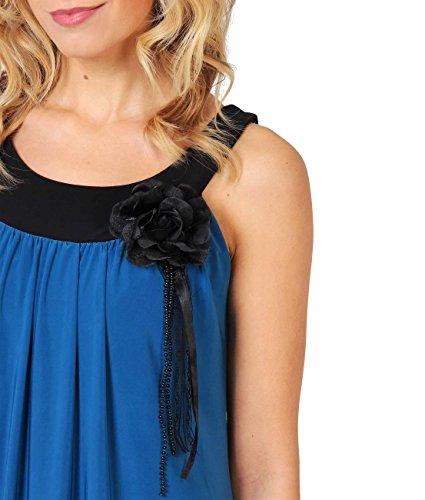 KRISP Damen Tunika Minikleid Retro 20er Jahre Stil Swing_(3565-ROY-10) -