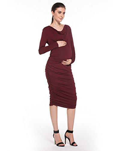 Modetrend Damen Kleider Elegant Mama Mit Umstandskleider w8Okn0P