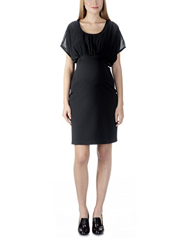 Bellybutton Damen Cocktail Umstandskleid JOBINA - Kleid 1/4 Arm, Knielang, Mehrfarbig, Gr. 38 (Herstellergröße: M), Mehrfarbig (stretch limo 1390)