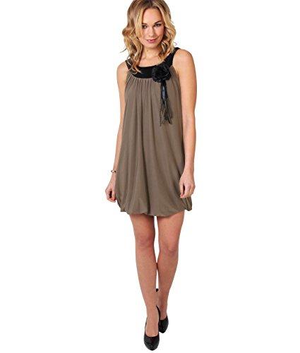 KRISP Damen Kleid Braun Kaffee 40 - 2