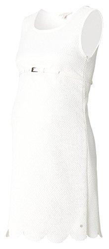 ESPRIT Maternity Damen Umstandskleid Dress woven ss, Midi, Einfarbig, Gr. 44, Elfenbein (Off white) - 3