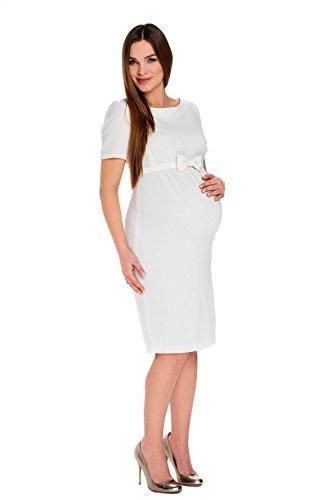 My Tummy Mutterschafts Kleid Umstands Kleid Bella mit Schleife S (small)