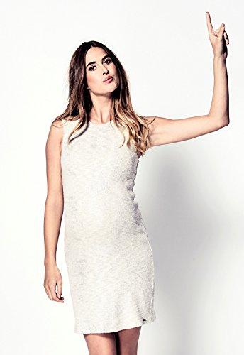 Love2Wait Umstandskleid Brautkleid Hochzeitskleid Schwangerschaftskleid Dress Damen Kleid 171038-M -