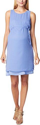ESPRIT Maternity Damen Etui Umstandskleid Dress wvn ss, Knielang, Einfarbig, Gr. 38, Blau (Lavender 425)