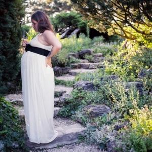 Umstandskleid festlich zur Hochzeit